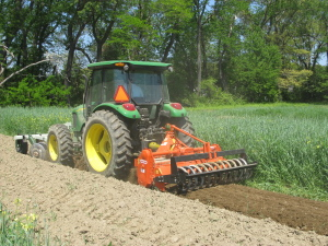 Tilling the Fields
